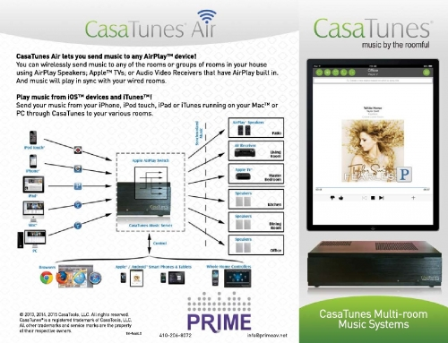 Whole House Audio – Prime Audio Video Provides Premier Sarasota Audio Systems
