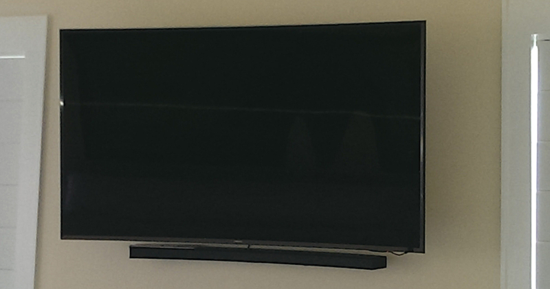 Venice Island Residence - Samsung 65 inch 4k Curved Television with Soundbar